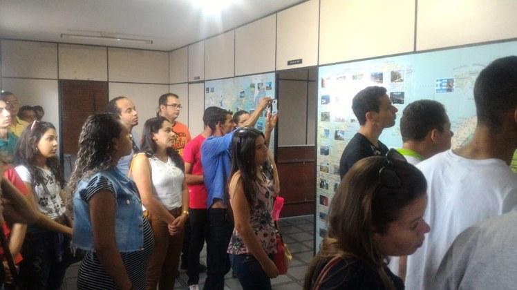 Alunos do curso técnico em Informática do Campus Soledade realizaram visita técnica