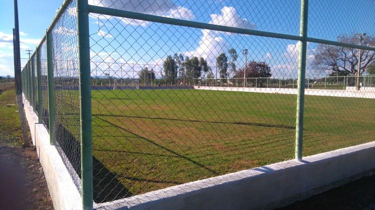 Campo de futebol.