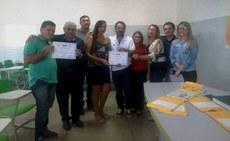 Solenidade do Pronatec contou com a participação do reitor Nicácio Lopes