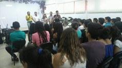 Foi mais de um mês de atividades variadas com os novos alunos dos cursos integrados
