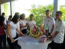 Estudantes explicaram projetos desenvolvidos no Campus