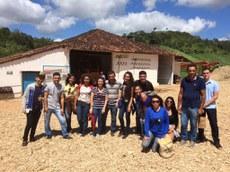 Turma de Agroecologia vista municípios de Areia, Bananeiras e Araruna
