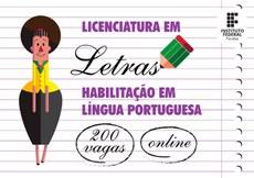 Inscrições para o curso de licenciatura em Letras estão abertas no IFPB