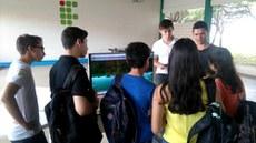 Projetos dos estudantes do curso de Informática foram apresentados no pátio