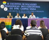 Programação do evento foi desenvolvida em dois dias na unidade Sede do Campus Sousa