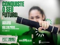 IFPB publica lista com o resultado preliminar para ingresso nos cursos técnicos