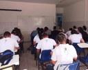Estudantes do curso de Agroindústria respondem à prova na unidade São Gonçalo