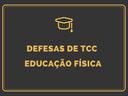 Defesas TCC Ed Física