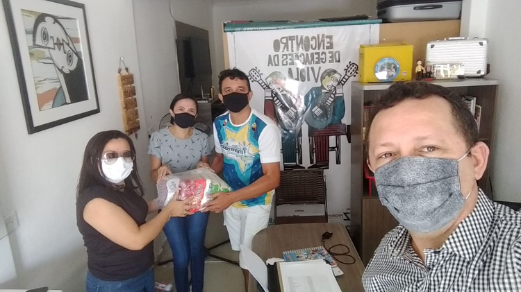 IFPB Solidário entrega mais 175 cestas básicas no Sertão