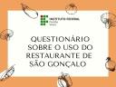 Questionário sobre restaurante