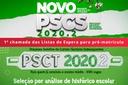 1ª chamada lista de espera PSCT e PSCS 2020.2